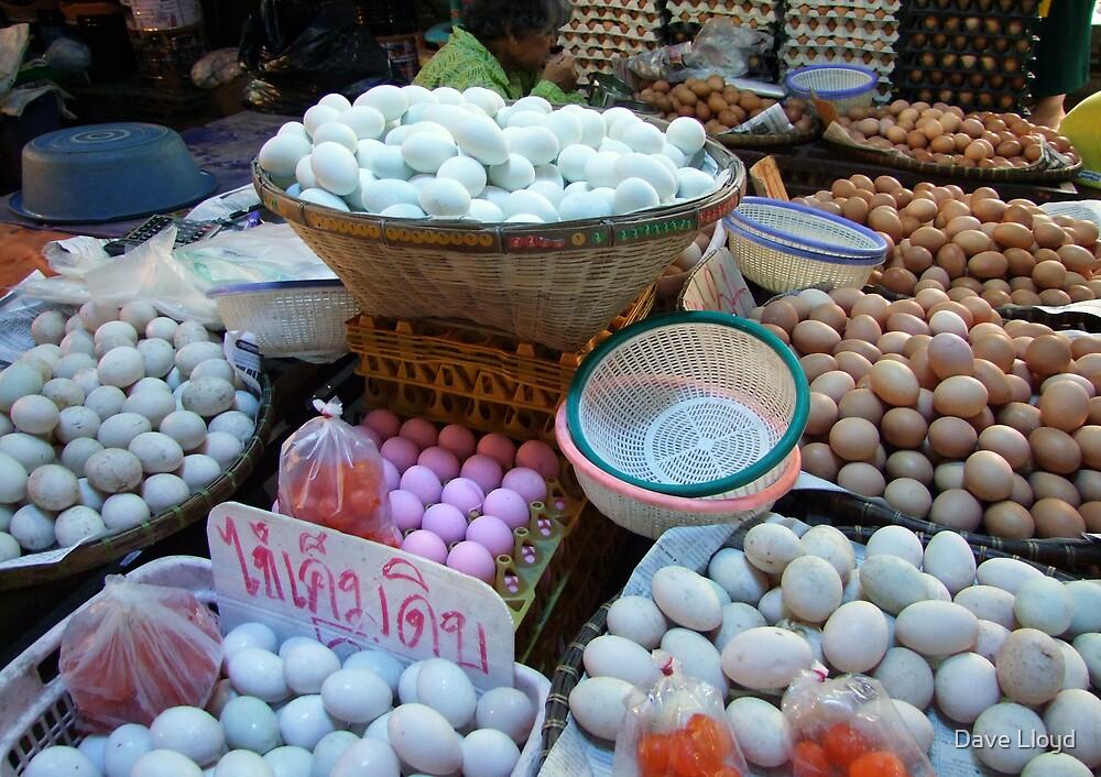 Market - Eggs by Dave Lloyd