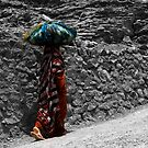 Jabel Akhdar old lady by marycarr