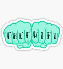 Free Wifi  Sticker