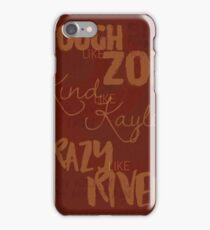 Tough Like Zoe iPhone Case/Skin