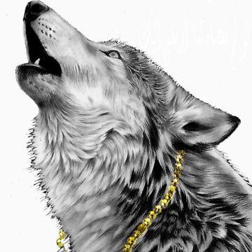 Arabic wolf  by marouanebnk