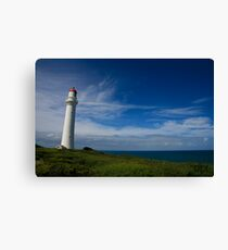 Split Point Lighthouse - Aireys Inlet - 1 Canvas Print