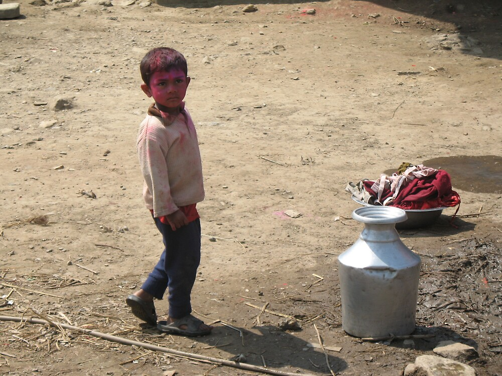 Holi in Pokhara by TheNats