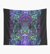 Hands To The Cosmos Wall Tapestry