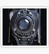 Antique Kodak Camera Lens Sticker