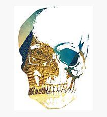 Pyramid Skull Photographic Print