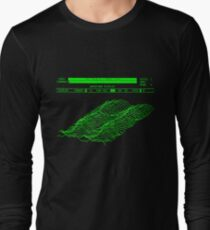 Fairlight CMI - Page D Waveform Display Long Sleeve T-Shirt