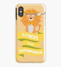 Fitness is my Superpower Rhdub iPhone Case/Skin