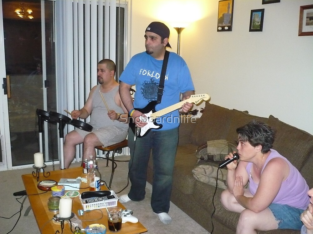 Rock Band! by Snoboardnlife