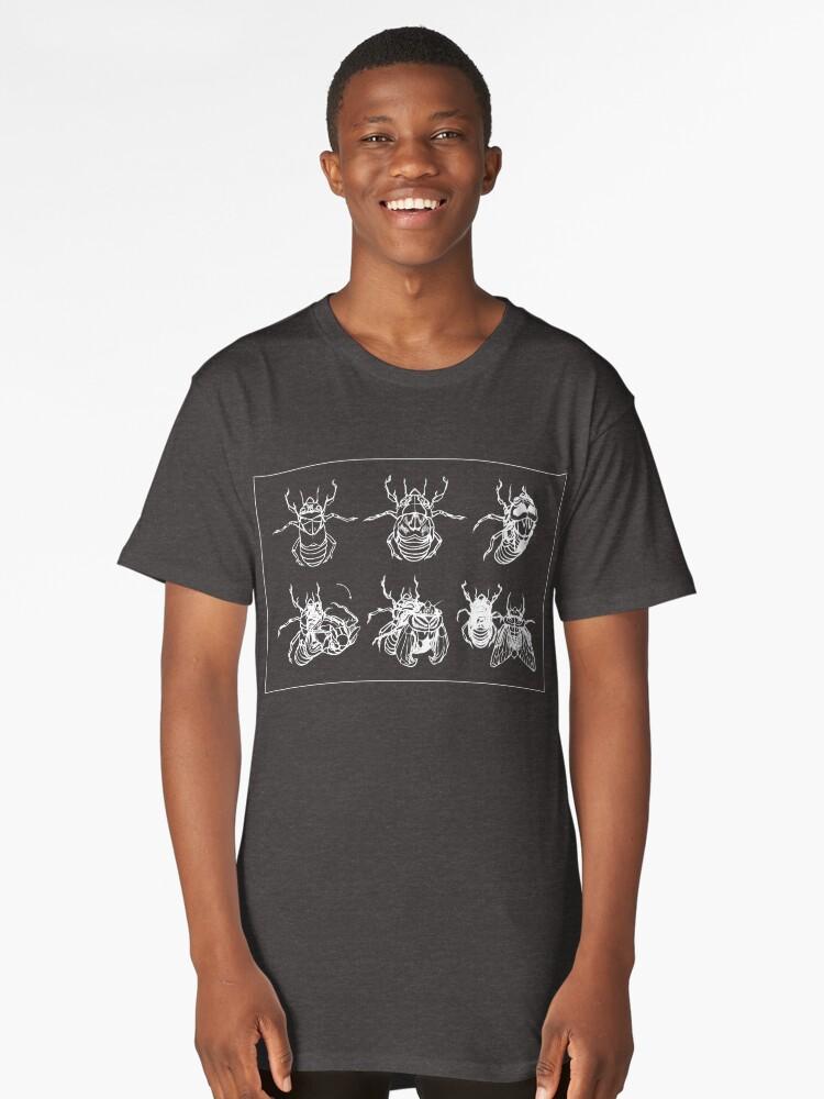 Cicada Metamorphosis Long T-Shirt Front