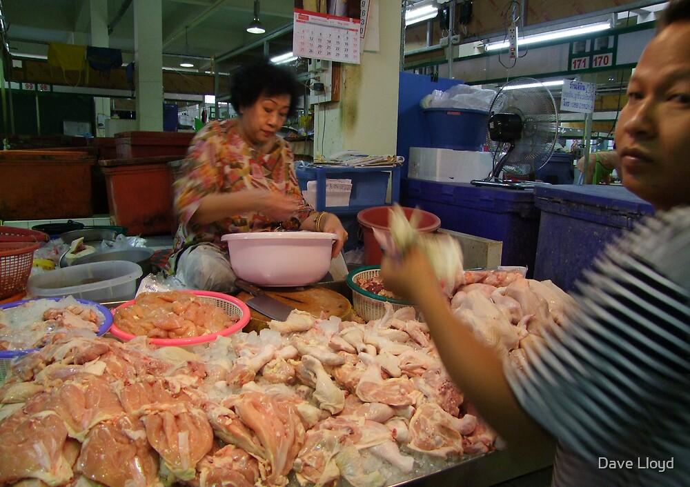 Market - Chicken by Dave Lloyd