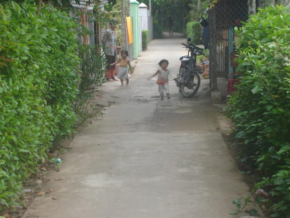 Children on street. Vietnam by Quietus