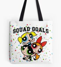 Powerpuff Squad Tote Bag