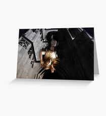 Suicide Blonde Greeting Card