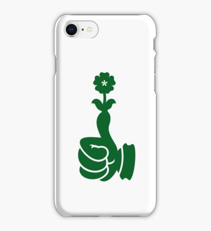 Green Thumb VRS2 iPhone Case/Skin