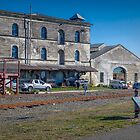 Farmers' Co-op Grain Store, (c.1901) Oamaru, New Zealand by Elaine Teague