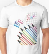 Write love to color T-Shirt
