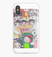 EXO Chibi iPhone Case/Skin
