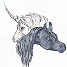 Unicorn and Horse by Stephanie Small