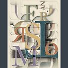 Typographical composition: Transform by Zern Liew