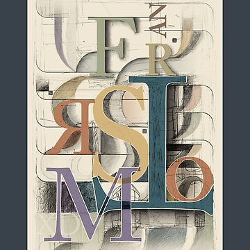 Typographical composition: Transform by zern