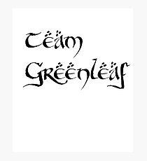 Team Greenleaf Photographic Print