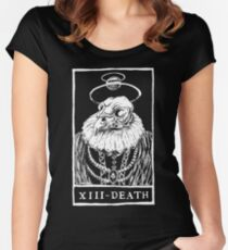 XIII - DEATH Women's Fitted Scoop T-Shirt