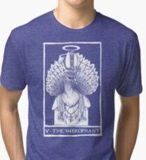 V - THE HIEROPHANT Tri-blend T-Shirt