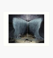 Moses and the Parting of the Red Sea Art Print
