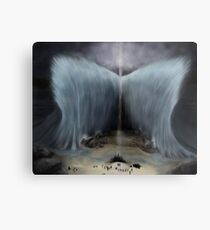 Moses and the Parting of the Red Sea Metal Print