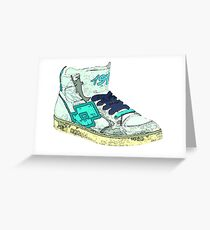 Watch My Shoes Greeting Card