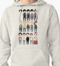 johns and sherlocks and moriarties Pullover Hoodie