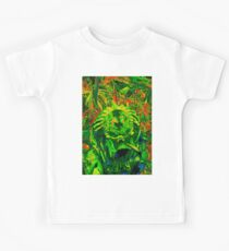 unmasked predator thermal vision jungle Kids Clothes