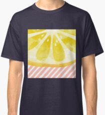 Lemon Abstract Classic T-Shirt