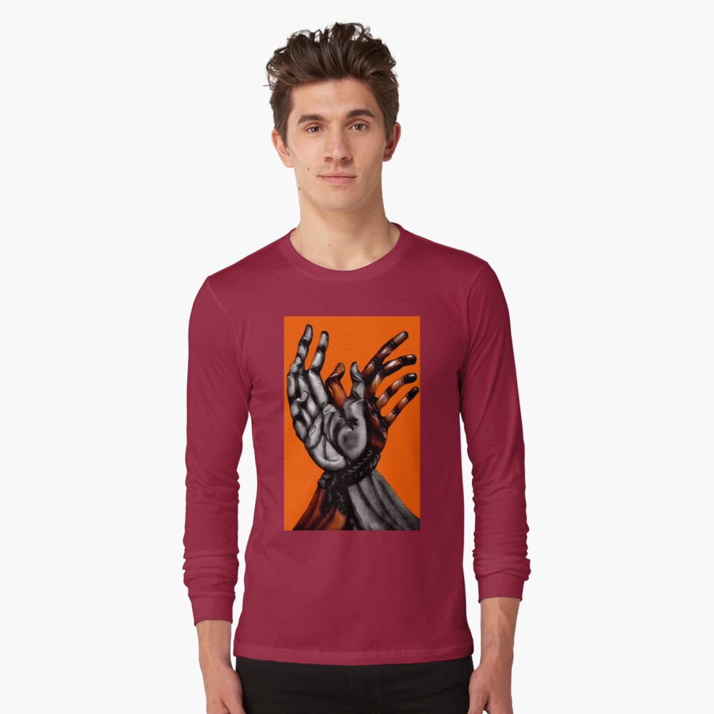 Stop Racism Long Sleeve T-Shirt Front