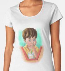 Toddler Drinking Women's Premium T-Shirt