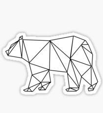 Geometric Polar Bear Sticker