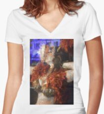 2014 in Review - 2 Women's Fitted V-Neck T-Shirt