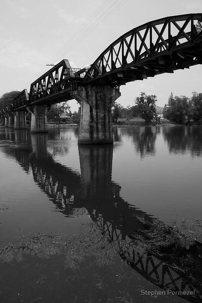 Bridge Over the River Kwai - Kanchanaburi, Thailand by Stephen Permezel