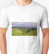 Pastoral California Hillside Unisex T-Shirt
