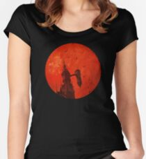"Netflix® Castlevania - ""Moon and Tower"" T-Shirt & Memorabilia Women's Fitted Scoop T-Shirt"