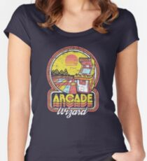 Arcade Wizard Women's Fitted Scoop T-Shirt