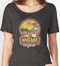 Arcade Wizard Women's Relaxed Fit T-Shirt