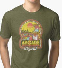Arcade Wizard Tri-blend T-Shirt