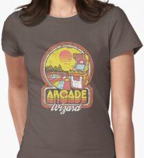 Arcade Wizard Women's Fitted T-Shirt