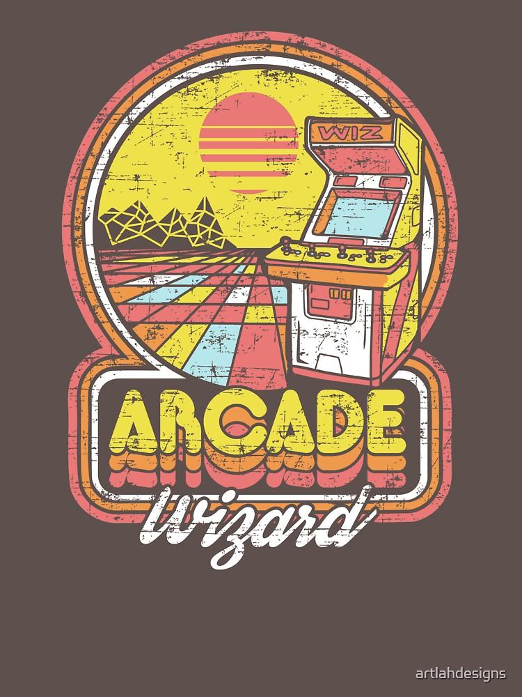 Arcade Wizard by artlahdesigns