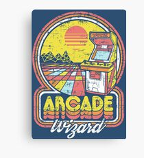 Arcade Wizard Canvas Print