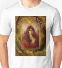 PSYCHIC FORTUNES: Vintage Fortune Telling Print T-Shirt