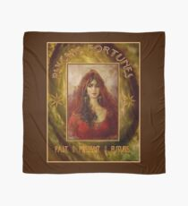 PSYCHIC FORTUNES: Vintage Fortune Telling Print Scarf