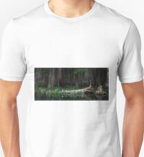 Ghostly Swamp – Florida Cypress Forest T-Shirt